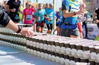 Getrtänkeausgabe Marathon-Läufer
