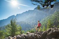 Wanderrast im Gebirge