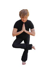 Sechs Yoga-Übungen