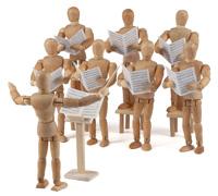 Singen im Uni-Chor löste kindliches Schul-Trauma