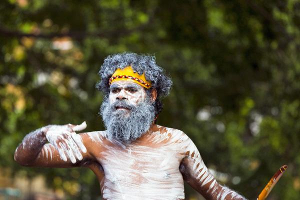 Vom Heilschatz der Aborigines