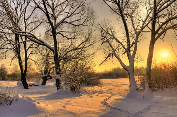 Winter: Zeit für Muße und Entspannung