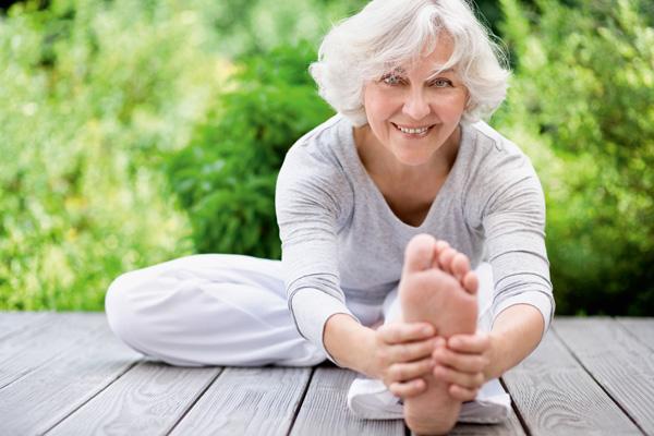 Fit und beweglich im fortgeschrittenen Alter