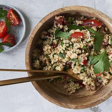 Quinoa-Tomaten-Salat