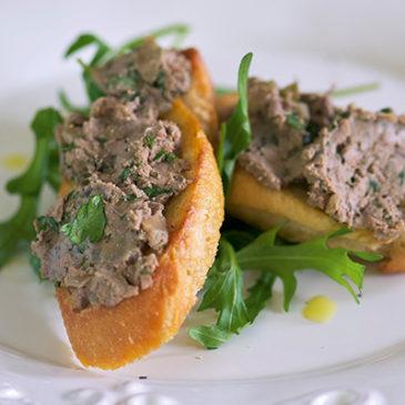 Pilz-Nuss-Paté
