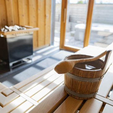 Fasten und Sauna bei Schuppenflechte